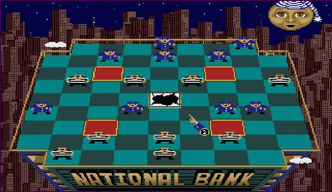 Cops and Robbers Chess - Main Screen